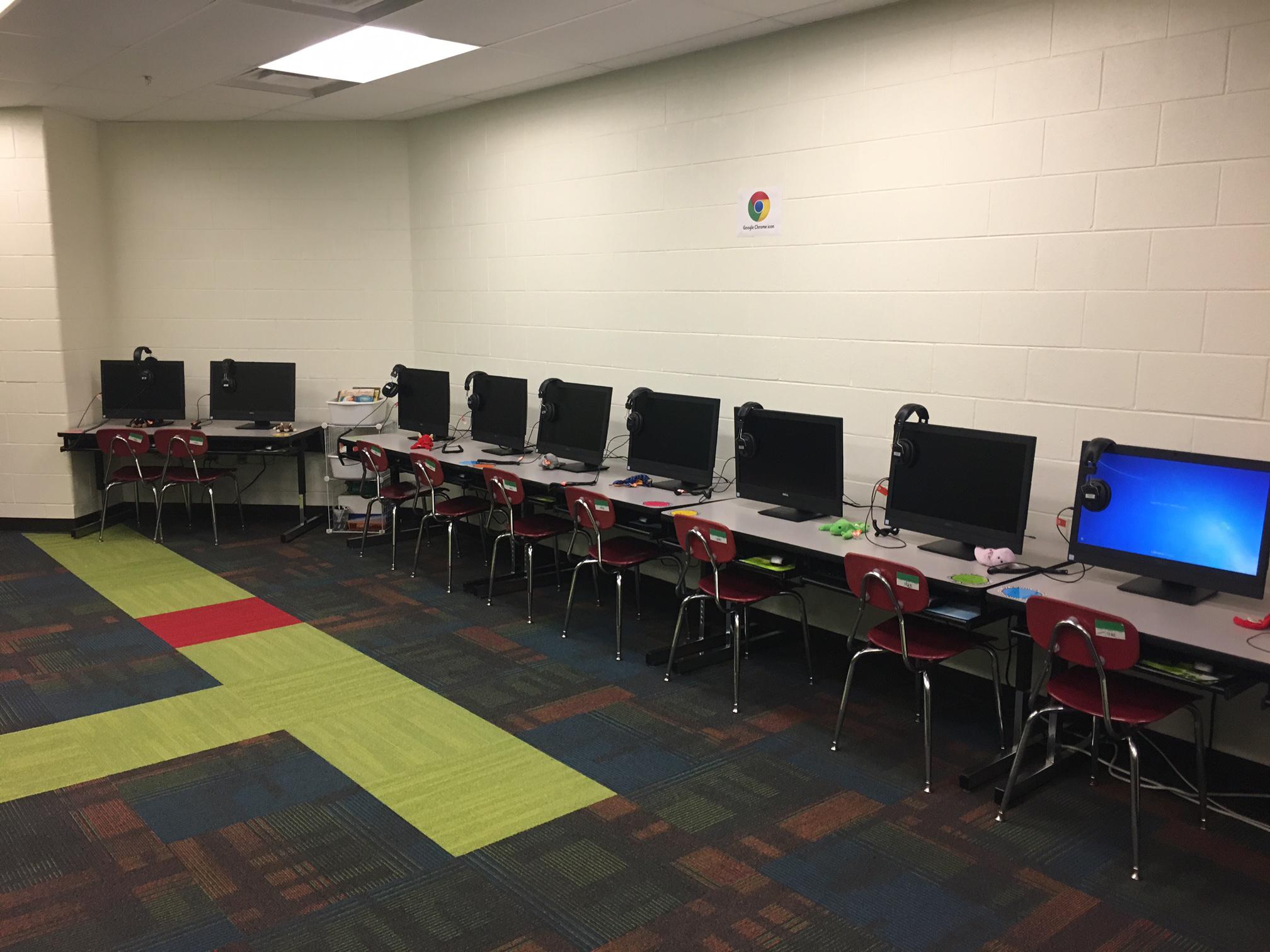 KEYSYS Computer Lab at Magnolia Elementary - KEYSYS.IO